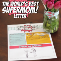 The World's Best Supermom Letter | oldsaltfarm.com