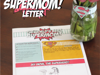 The World's Best Supermom Letter | simplykierste.com