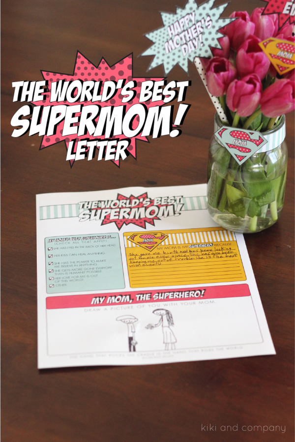 The World's Best Supermom Letter!