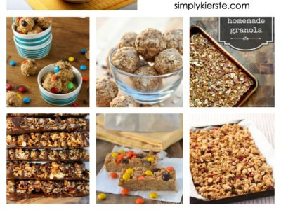 10 yummy granola recipes | simplykierste.com