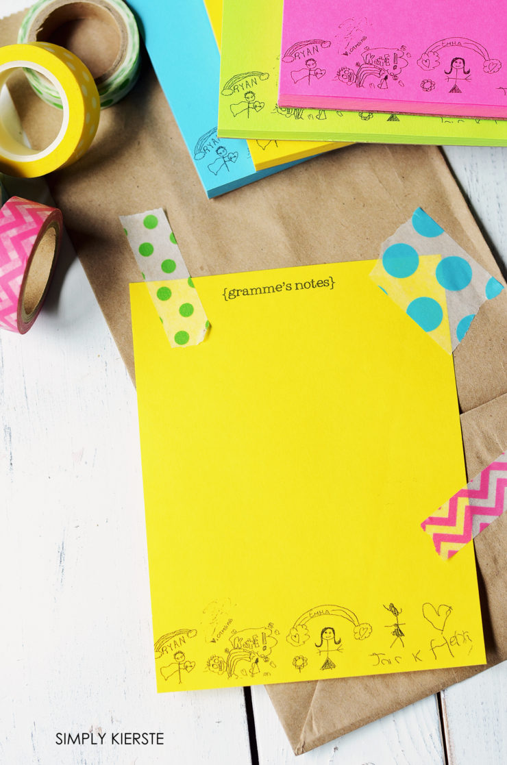personalized notepaper