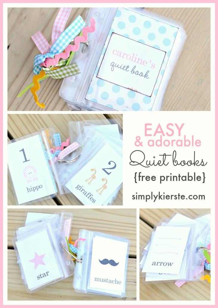 Easy & Adorable Quiet Book   simplykierste.com