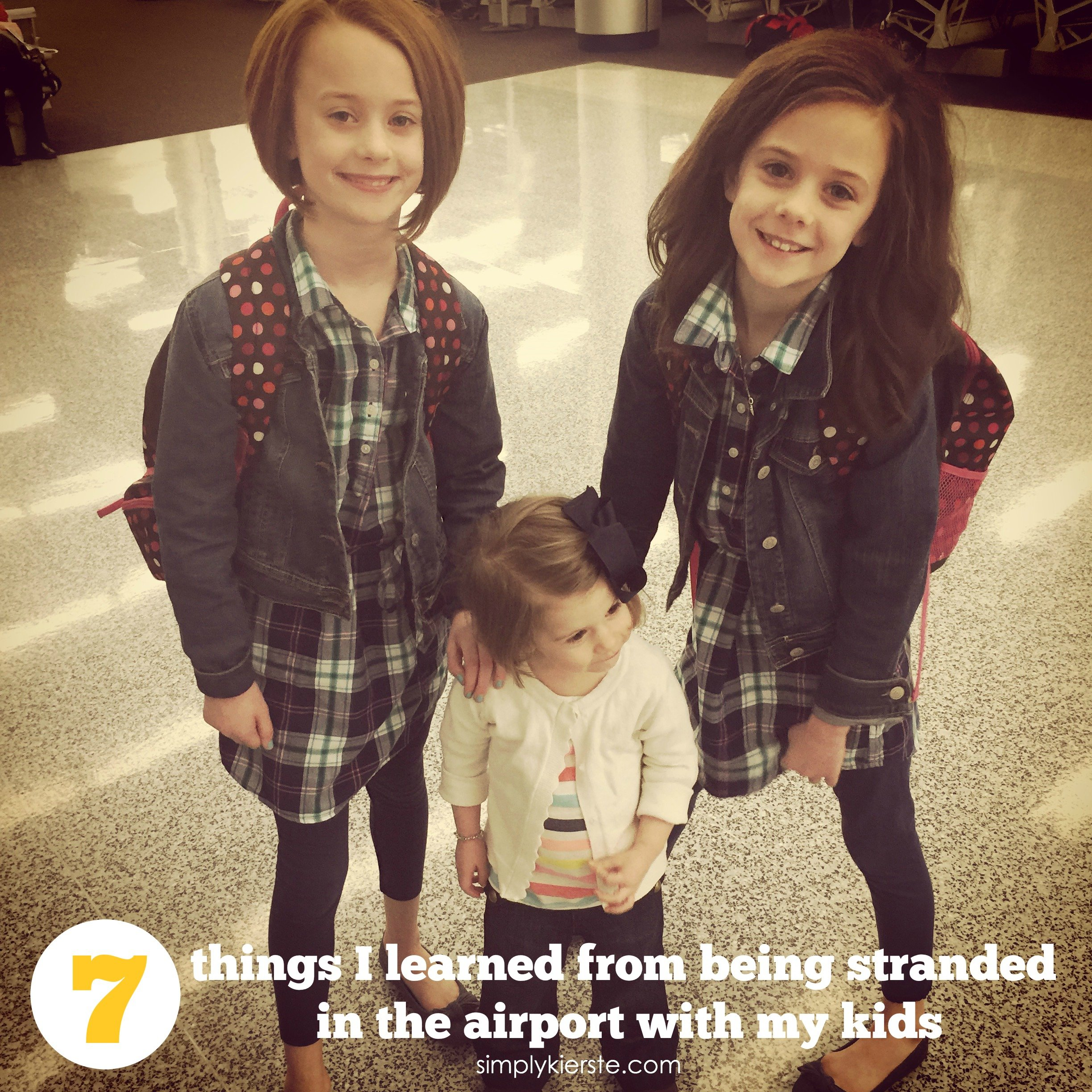 7 things I learned from being stranded in the airport with kids