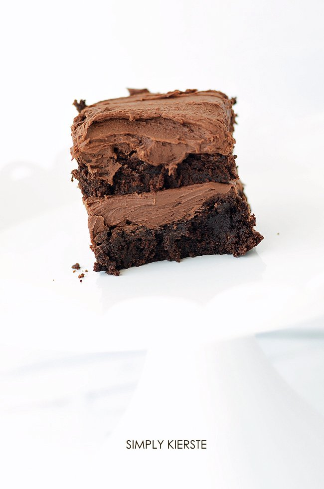 Irresistible Fudgy Brownies | simplykierste.com