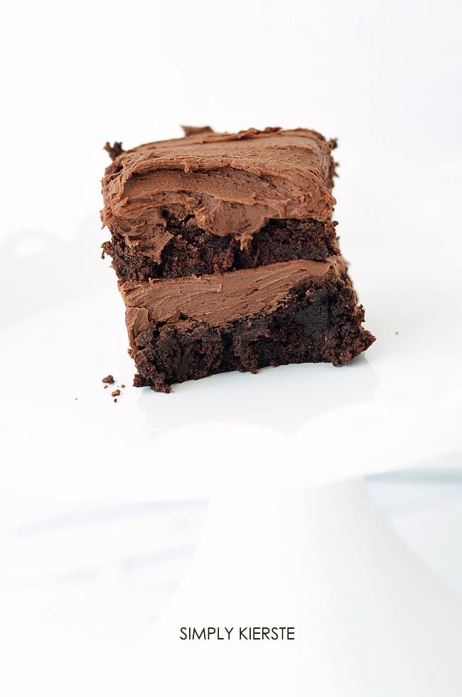 Irresistible fudgy brownies recipe