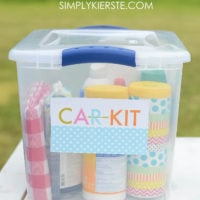How to put together a summer car kit + free printable!