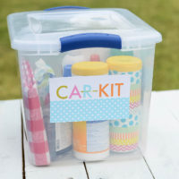 How to Put Together a Summer Car Kit...Perfect for Families