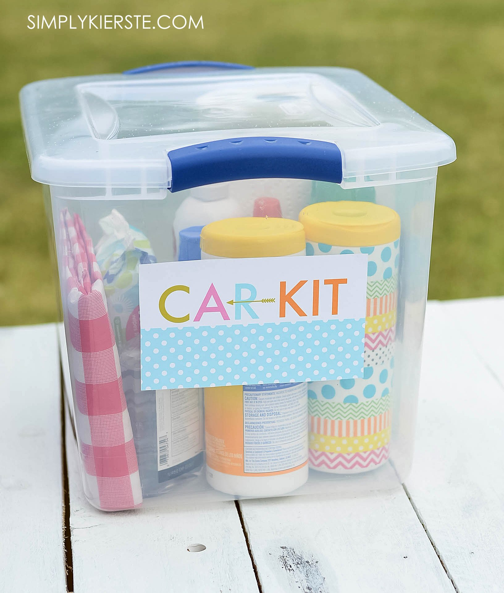 How to Put Together a Summer Car Kit