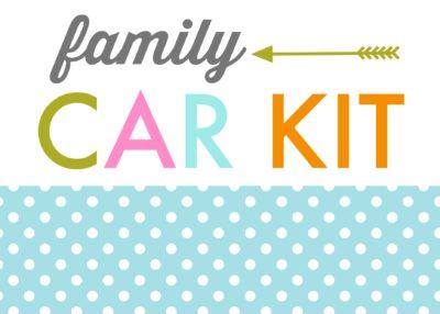 car kit printable