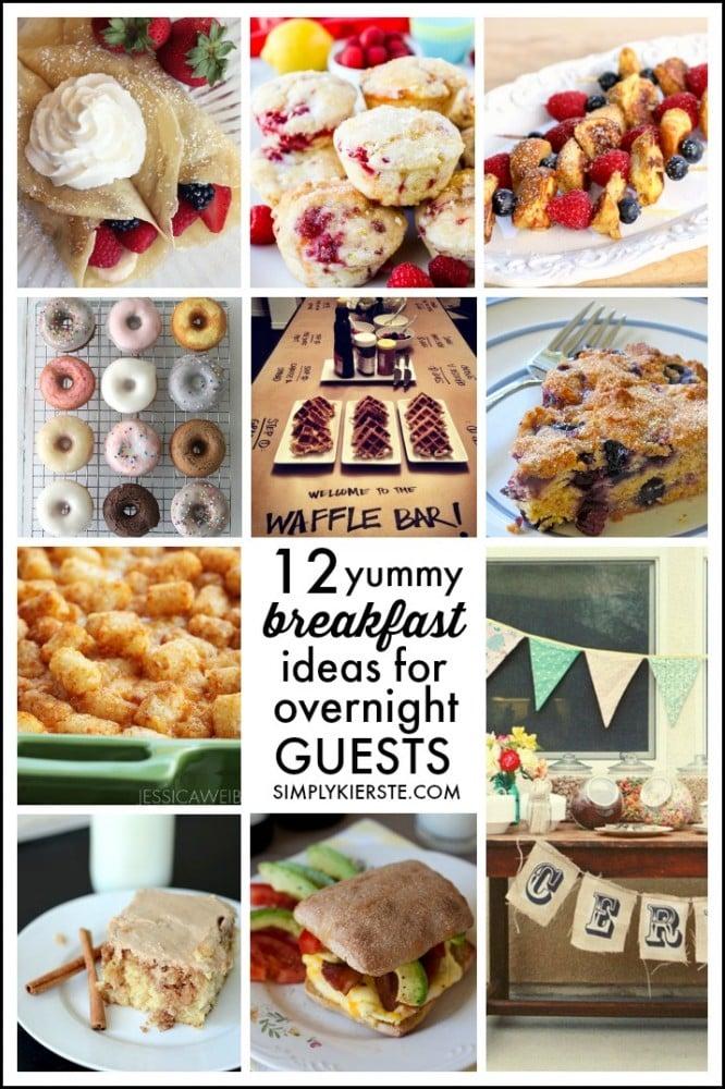 12 yummy breakfast ideas for overnight guests | oldsaltfarm.com