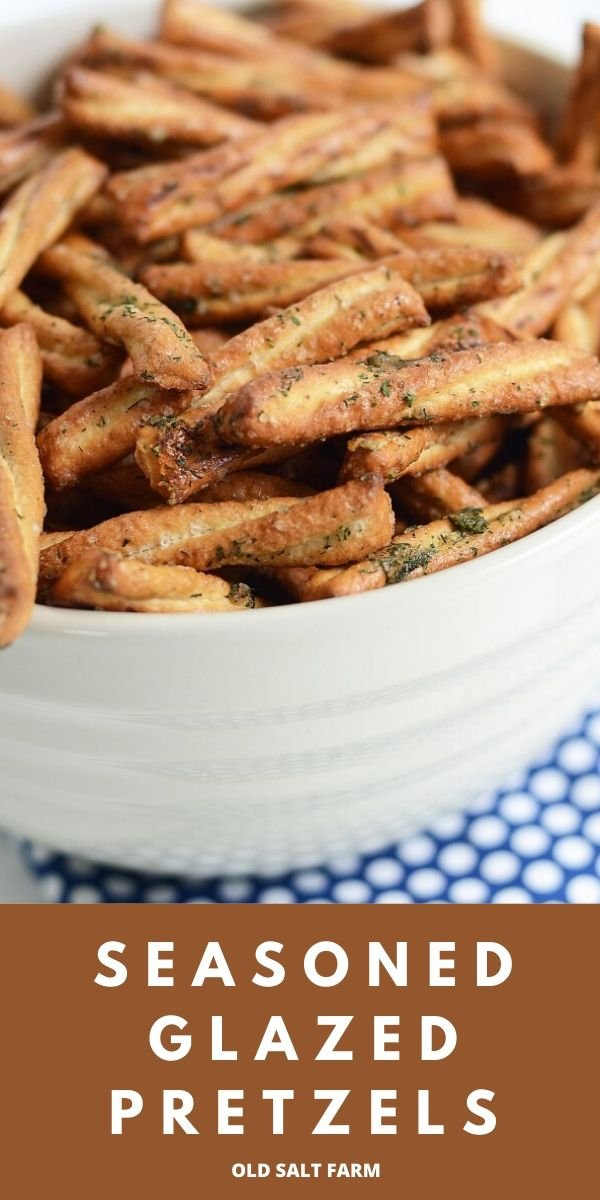 Easy Seasoned Glazed Pretzels