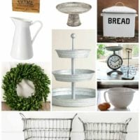 Favorite farmhouse style decor…and where to find it!