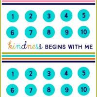Are your kids arguing?  Try a kindness punch card!