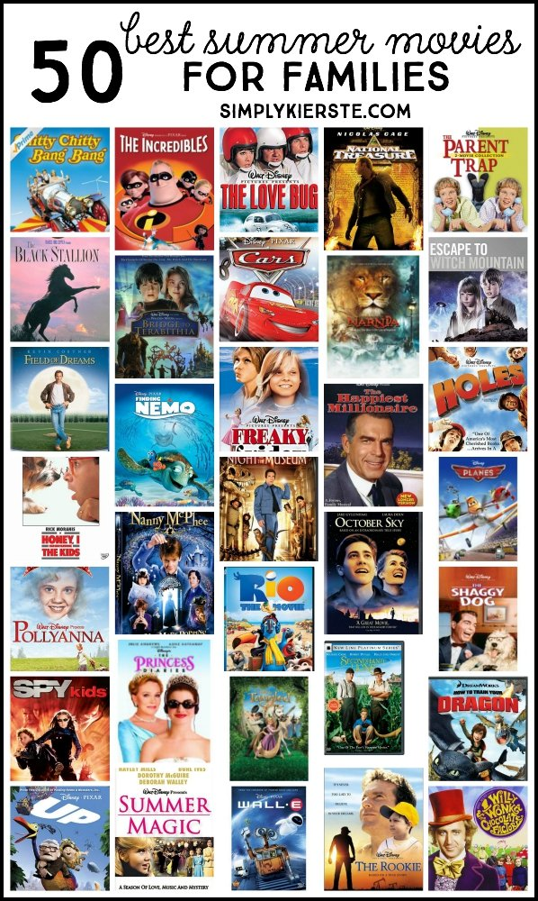 50 best summer movies for families simplykierste
