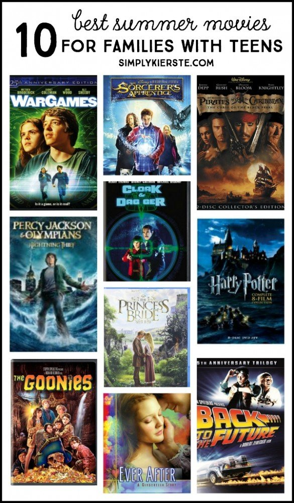 10 best summer movies for families with teens   oldsaltfarm.com