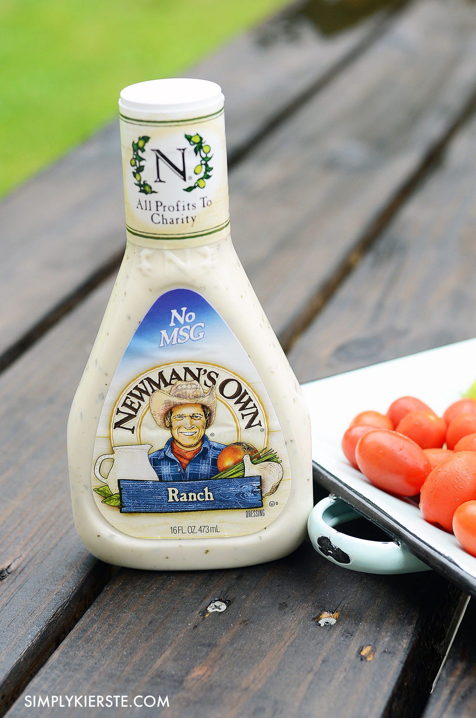 Making dinner easy with Newman's Own