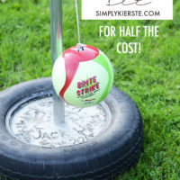 Backyard fun: Make your own DIY tetherball set!