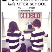 5 ways to stay organized & connect with your kids after school