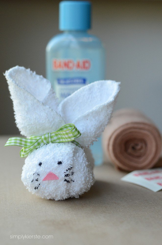 washcloth boo boo bunny | oldsaltfarm.com