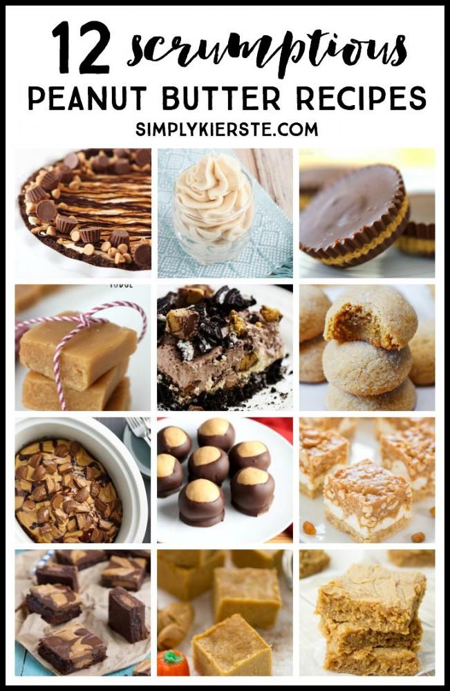12 Scrumptious Peanut Butter Recipes   simplykierste.com