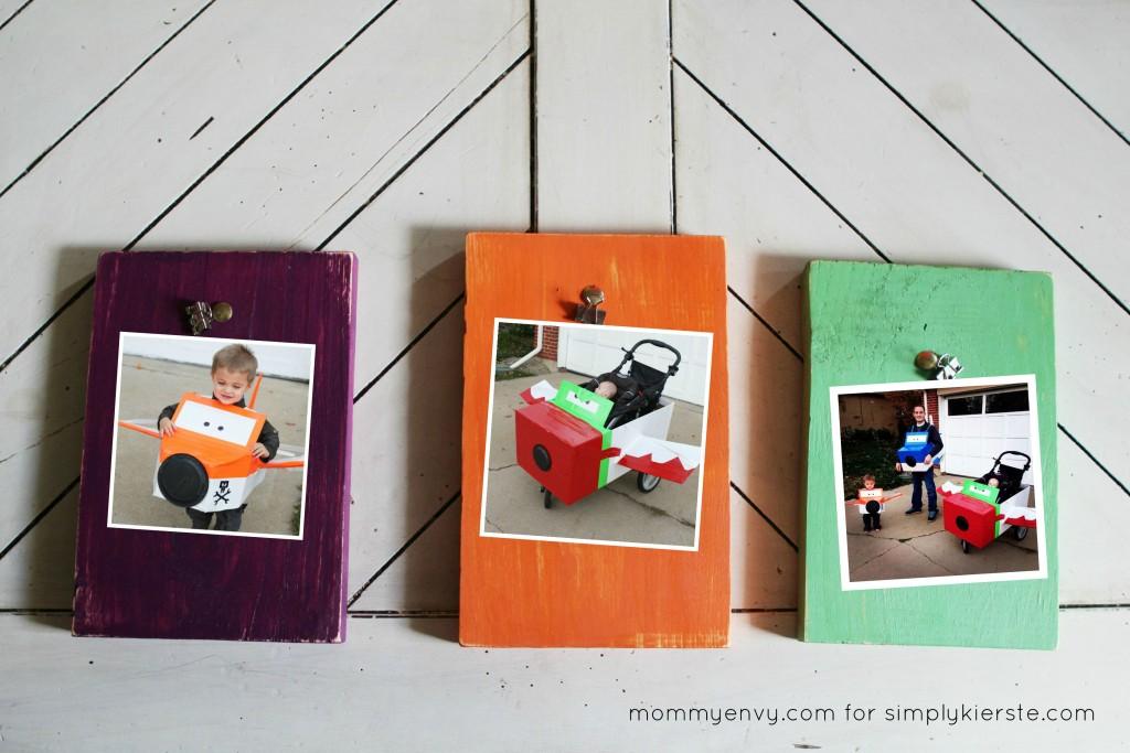 DIY Halloween frames | simplykierste.com