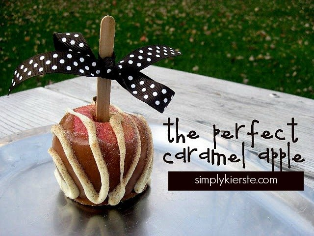 How to make the perfect caramel apple | simplykierste.com