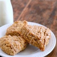 Maple Nut Oat Scones