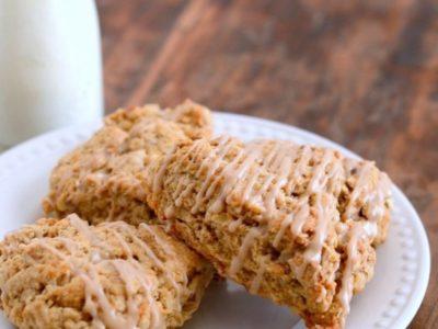Maple Nut Oat Scones | simplykierste.com