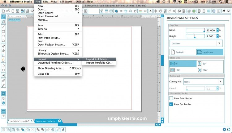 How to convert png and jpg files into Silhouette cut files   oldsaltfarm.com