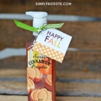 Easy fall gift ideas & printables