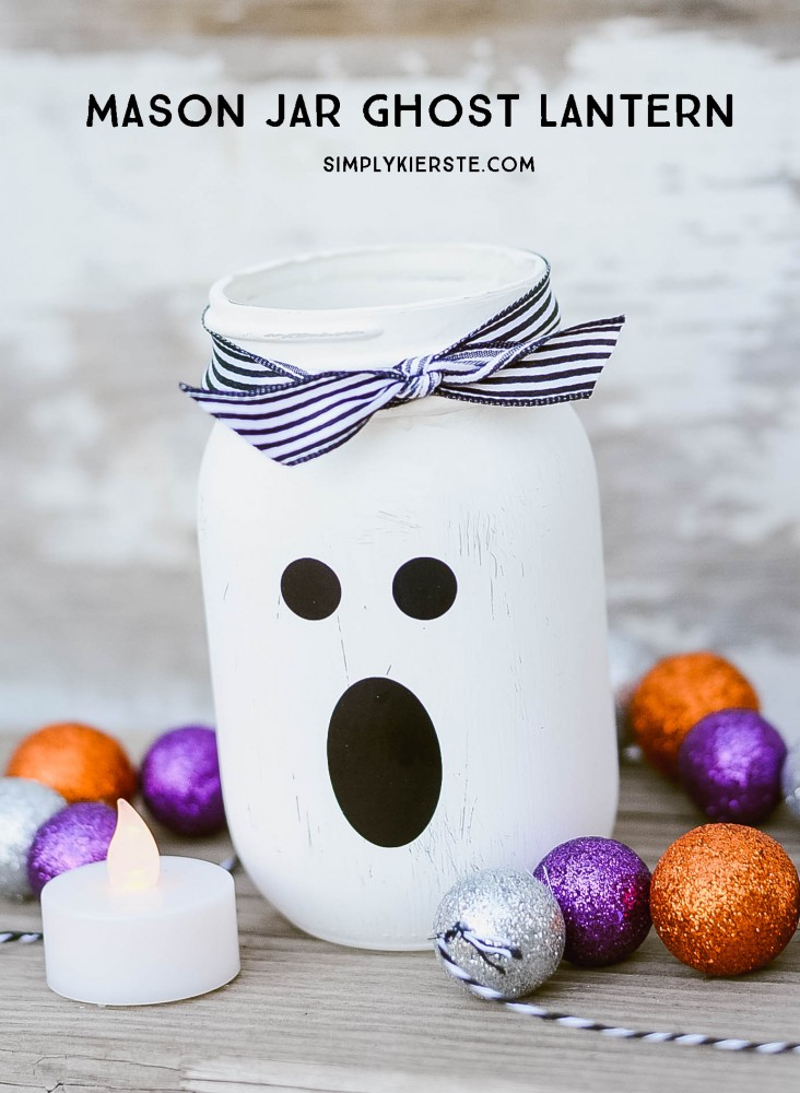 Mason Jar Ghost Lantern | oldsaltfarm.com