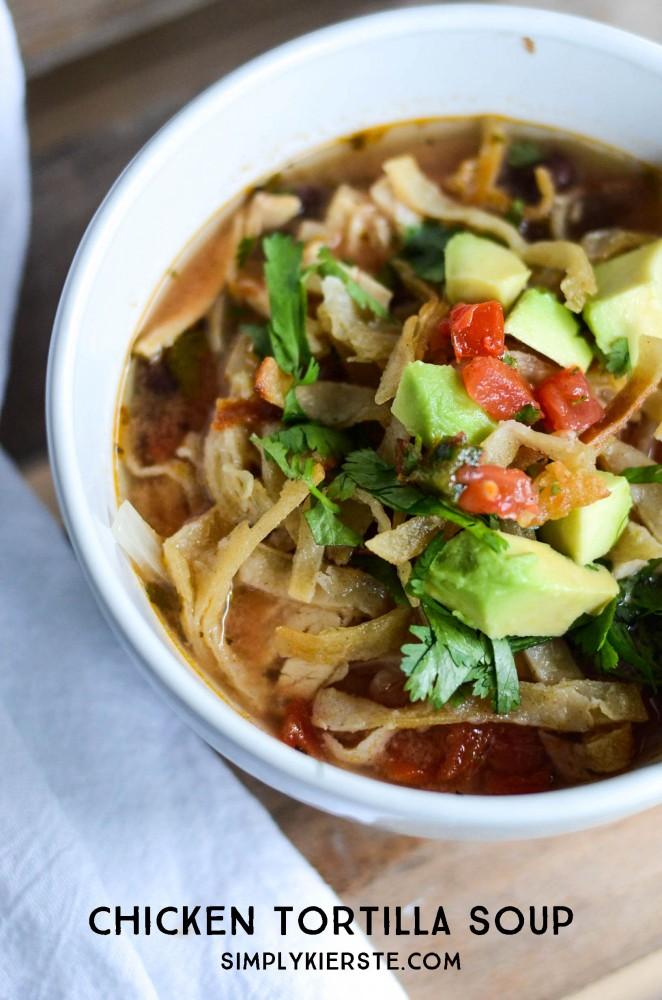 Chicken Tortilla Soup | simplykierste.com