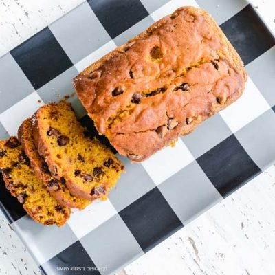 Chocolate Chip Pumpkin Bread | oldsaltfarm.com