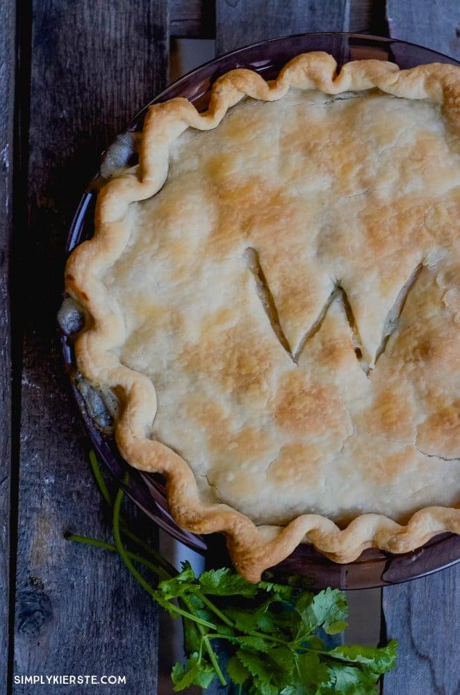Quick & Easy Chicken Pot Pie | simplykierste.com
