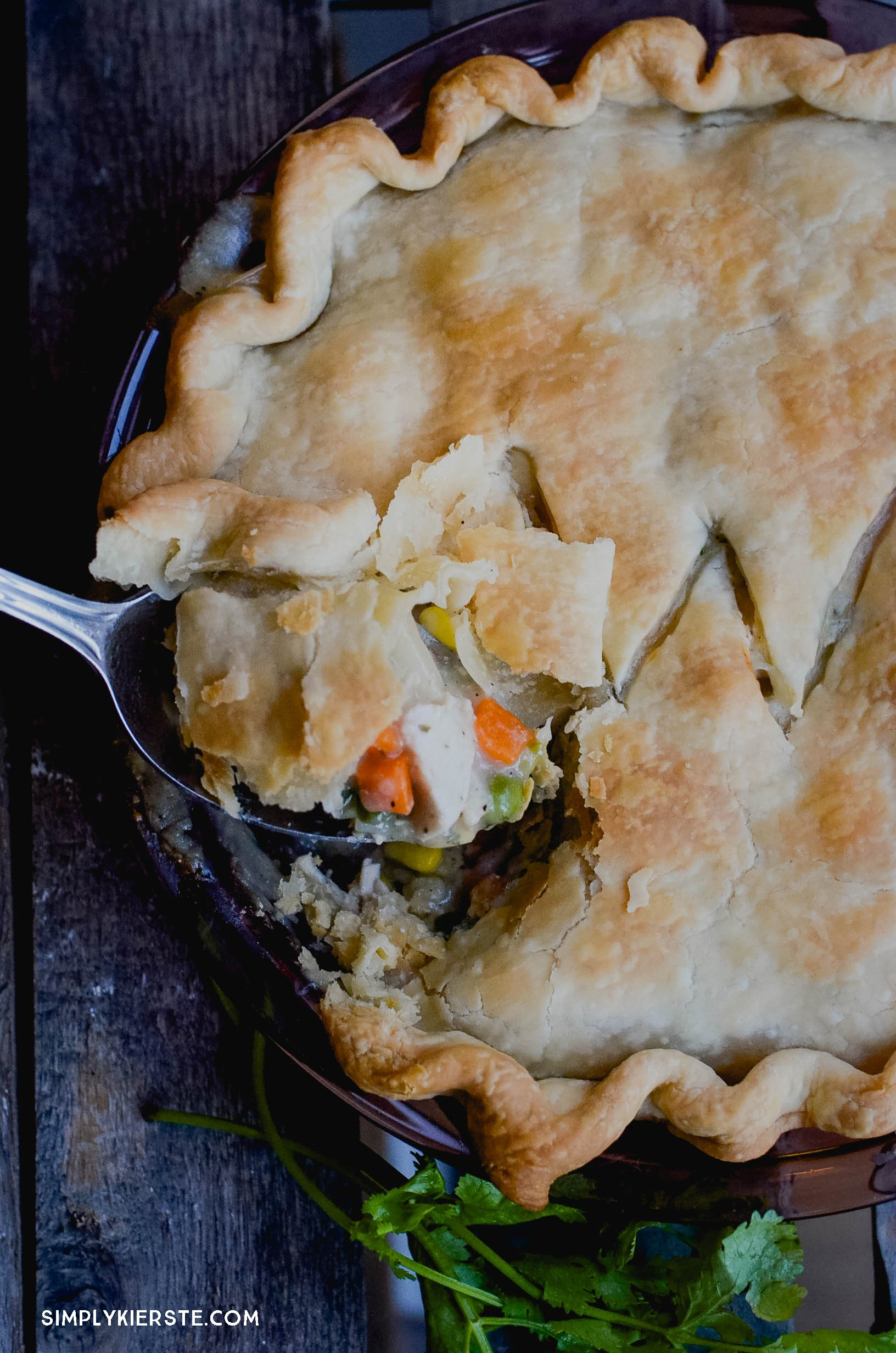 Quick & Easy Chicken Pot Pie | simplykierste.com