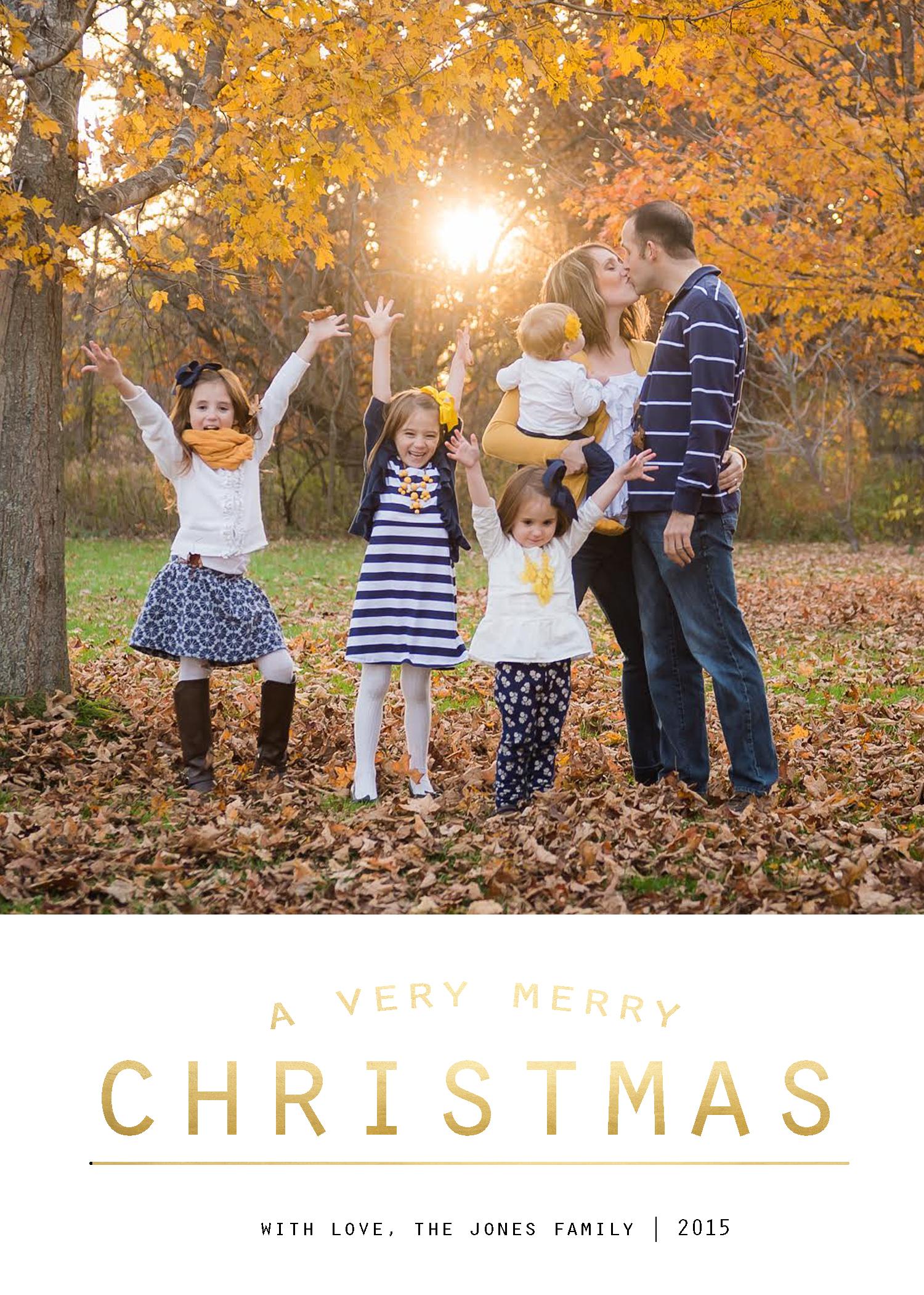 Free Christmas card templates…plus easy tutorial!