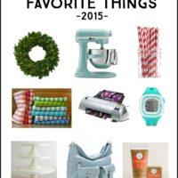 Kierste's Favorite Things 2015