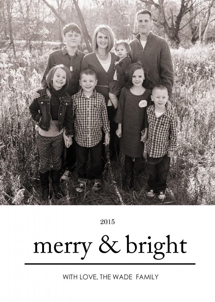 Free Christmas Card Templates | oldsaltfarm.com