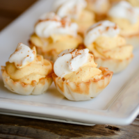 Impossibly Easy No-Bake Mini Pumpkin Cream Pies