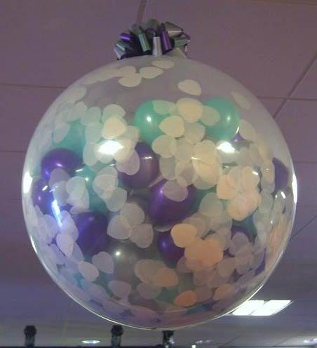 Confetti Balloon | New Year's Eve | oldsaltfarm.com