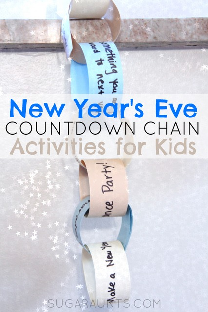 New Year's Eve Countdown Chain | simplykierste.com