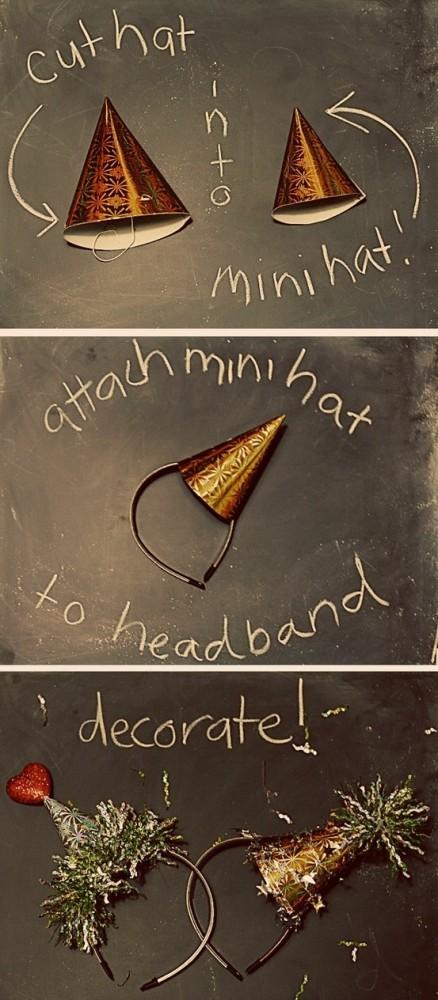 Mini Hat Headband | New Year's Eve | simplykierste.com