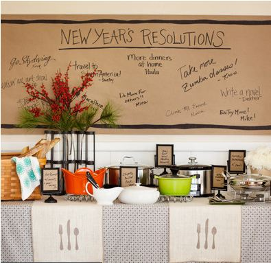 Resolutions Banner | New Year's Eve | simplykierste.com