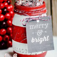 Christmas Mason Jar Gift Ideas