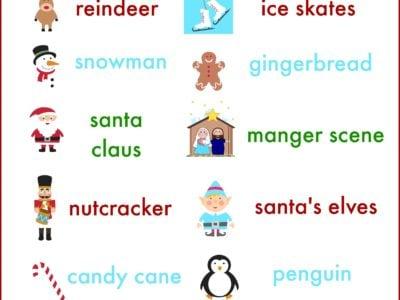 christmas lights scavenger hunt for kids & families | free printable | simplykierste.com