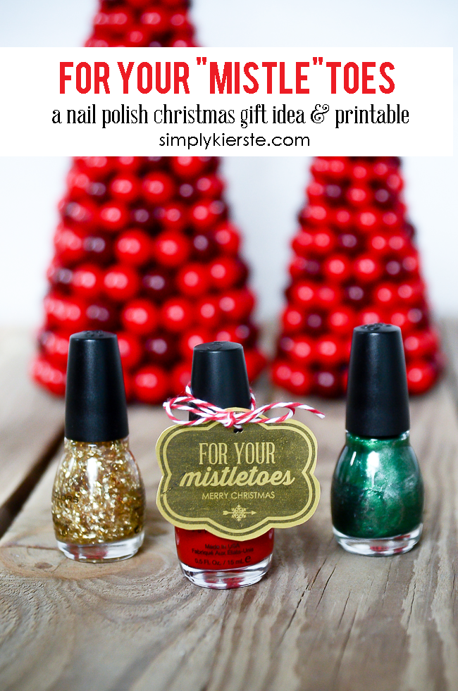 graphic about For Your Mistletoes Printable referred to as For your mistletoesa Xmas present concept printable