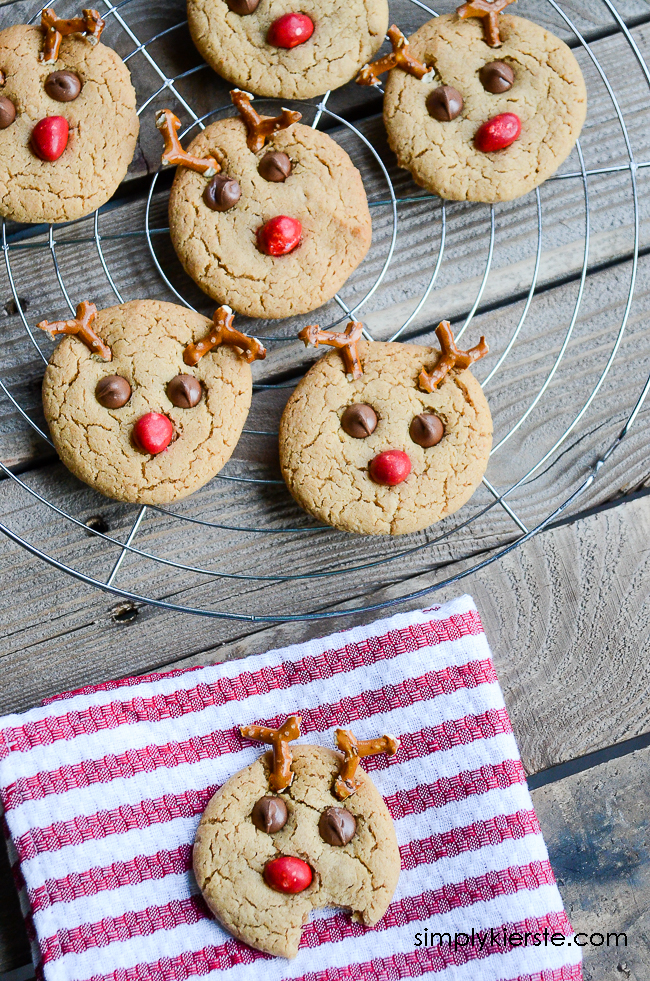 Easy Reindeer Cookies | oldsaltfarm.com