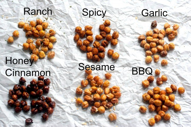 Roasted Chickpeas Recipe | simplykierste.com