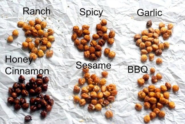 Roasted Chickpeas Recipe | simplykierste.com