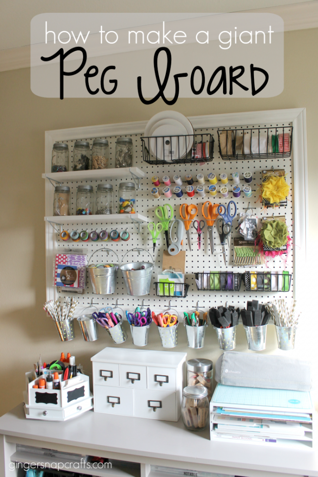 How to make a giant peg board | simplykierste.com